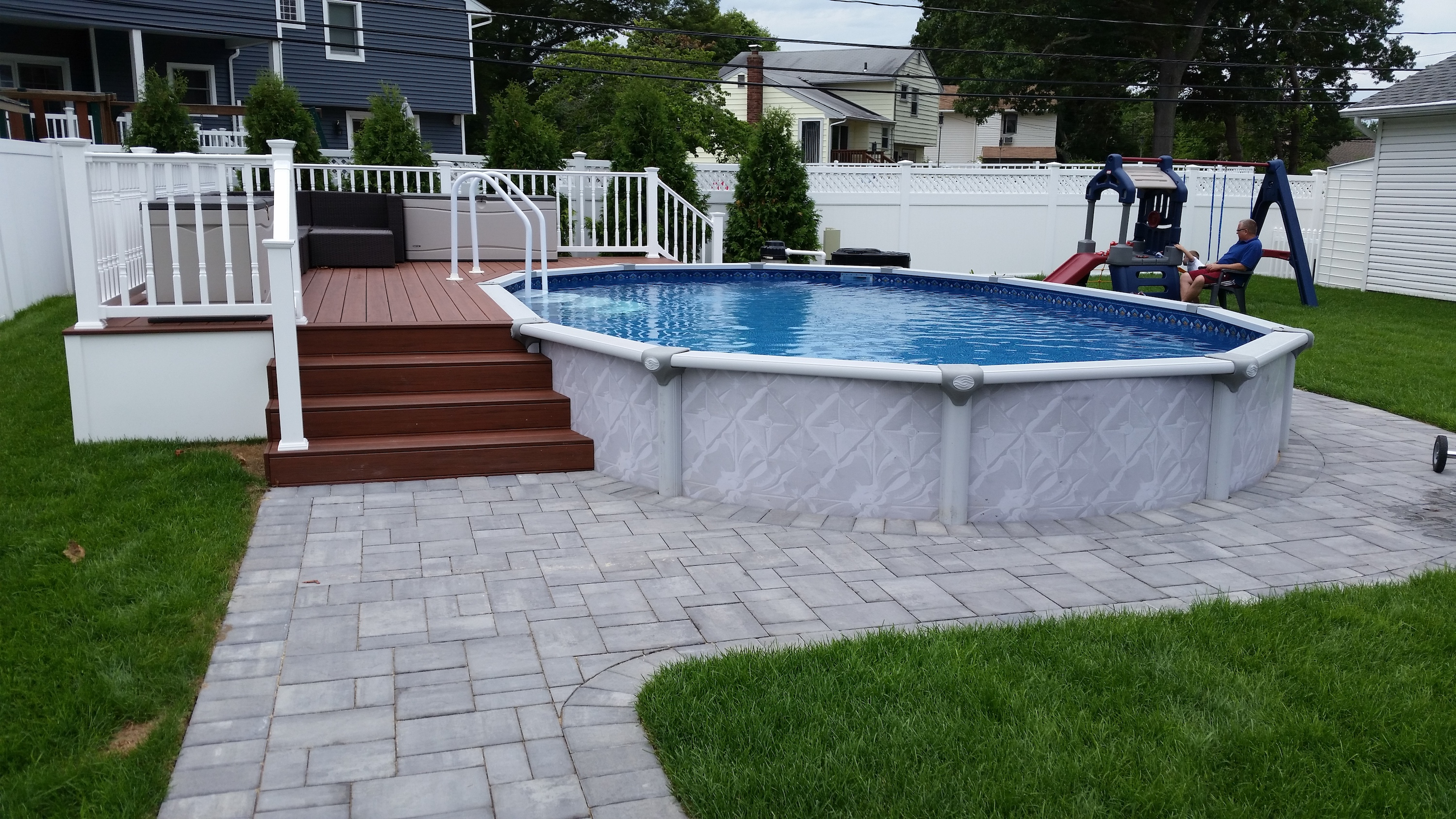 Semi-Inground Pools – Smith Brothers Landscaping Inc